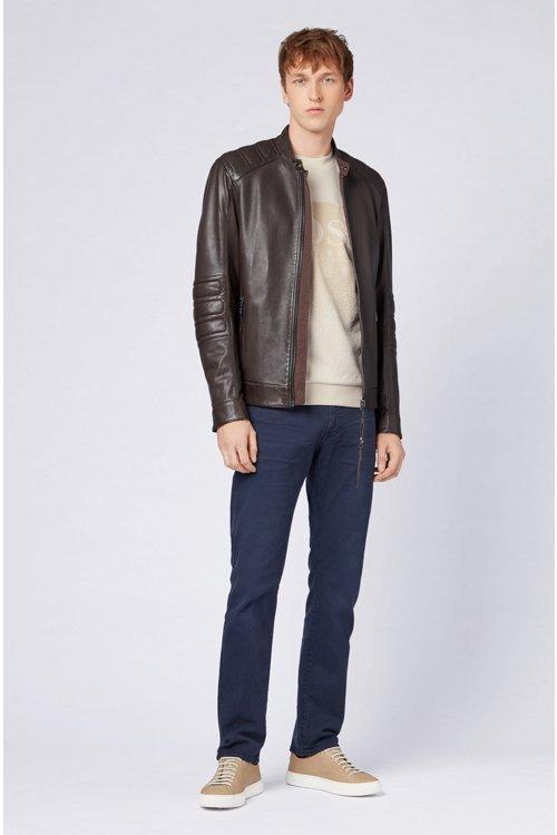Hugo Boss - Regular-fit jeans in left-hand-twill stretch denim - 2
