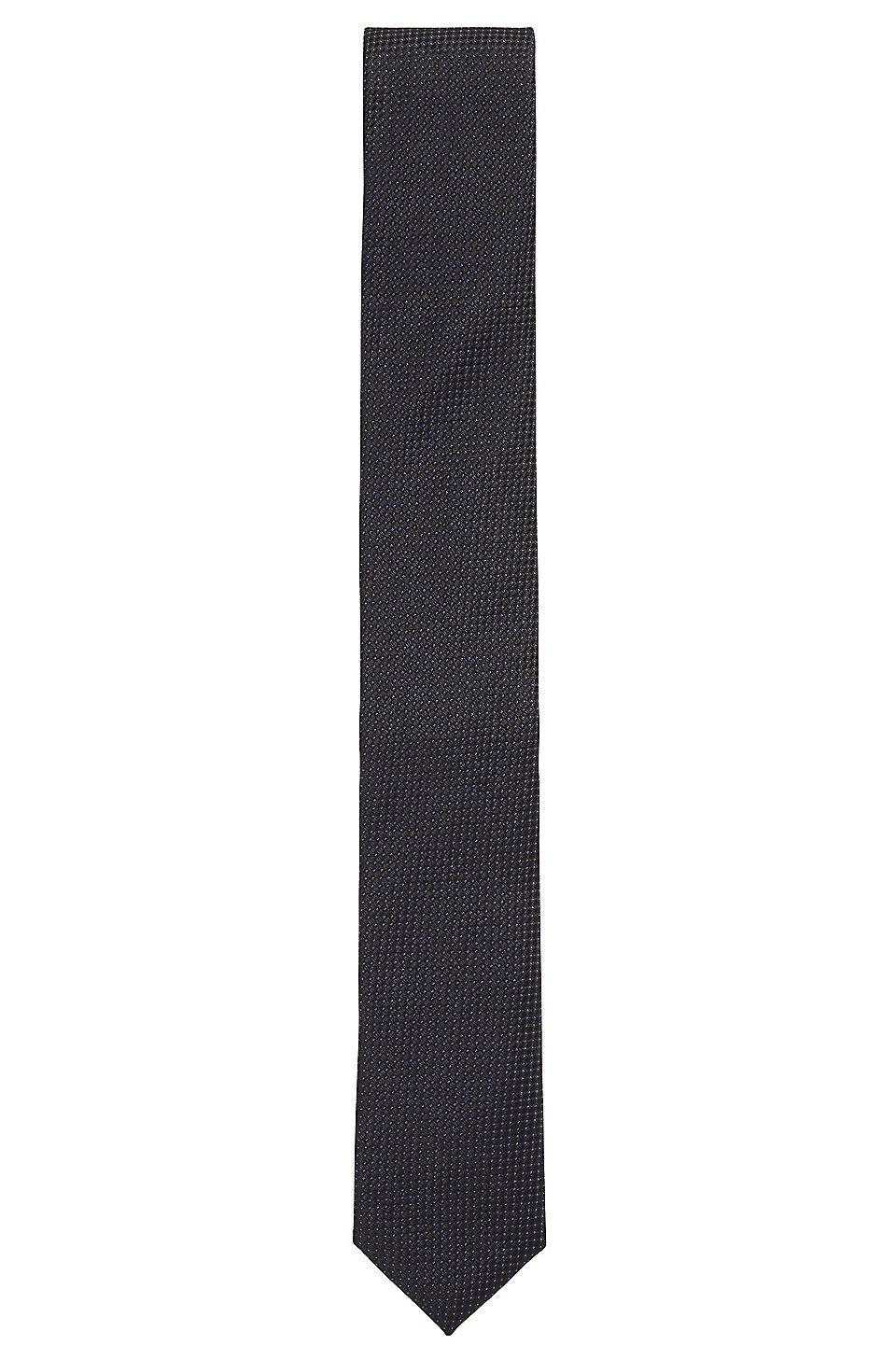 e97a95d6b6 BOSS - Italian-made tie in micro-pattern silk jacquard