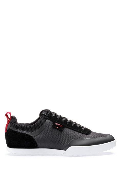 suede suede suede top top top top technical trainers mesh HUGO and Low in W0FnqTq