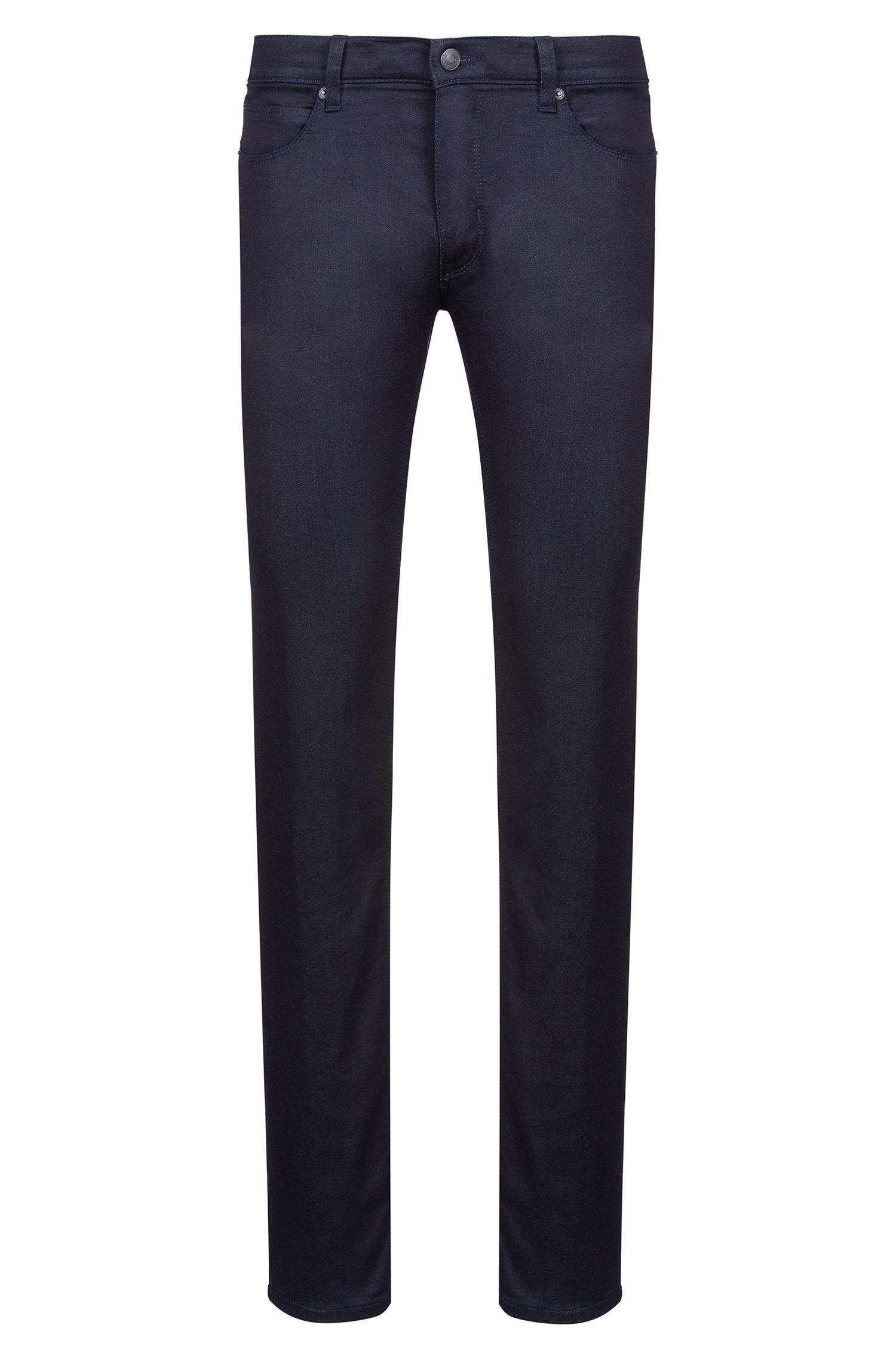 Slim-Fit Jeans aus Stretch-Denim, Dunkelblau