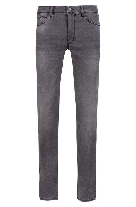 0fd093a3e57 Skinny-fit jeans van grijs stretchdenim, Antraciet