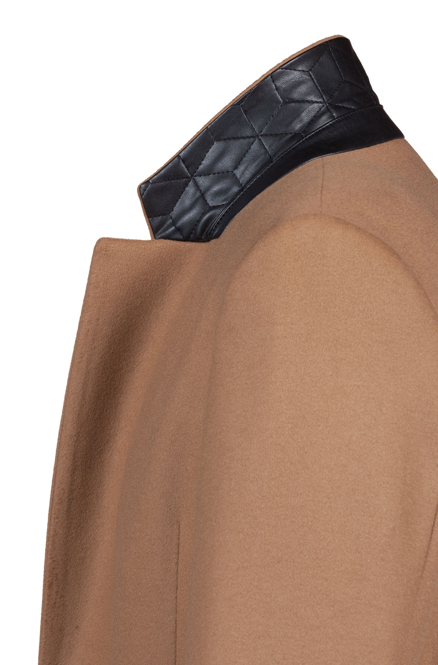 Extra-slim-fit jacket in virgin wool with cashmere