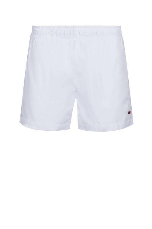 Hugo Boss - Bañador tipo shorts de secado rápido con forro en contraste - 1