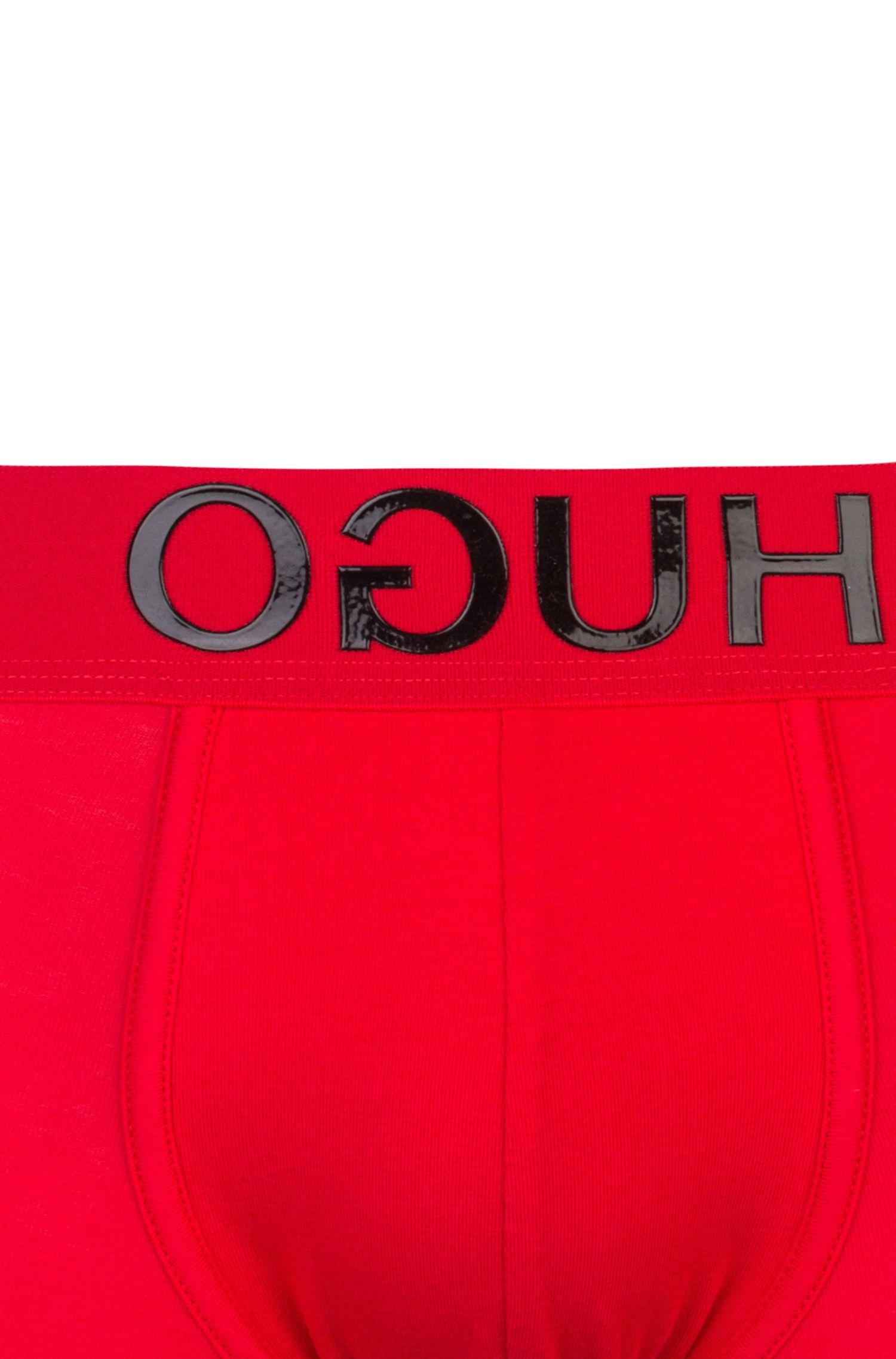 Boxershorts aus Stretch-Baumwolle mit Reversed-Logo am Bund, Hellrosa