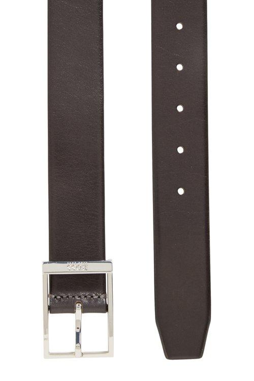 Hugo Boss - Gürtel aus pflanzlich gegerbtem Leder mit Dornschließe - 4