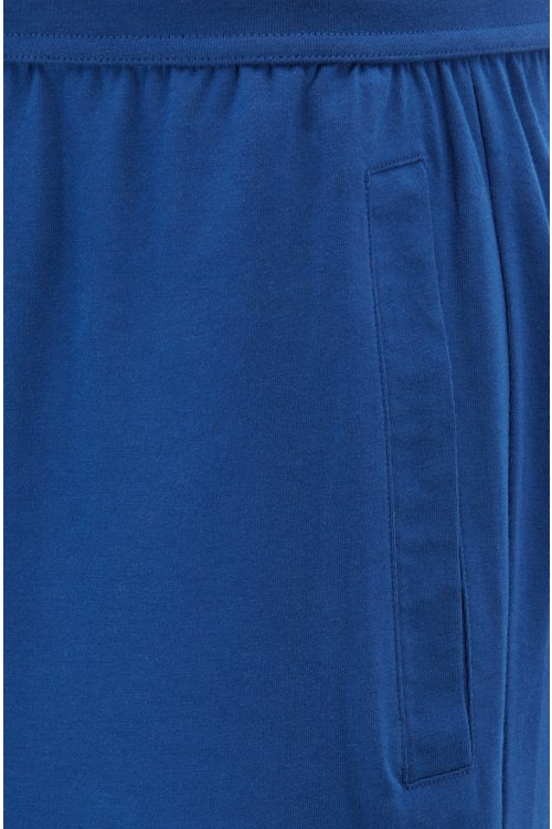 Hugo Boss - Pyjama shorts with contrast logo print - 2