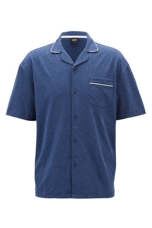Hugo Boss - Regular-fit pyjama set in interlock cotton - 1