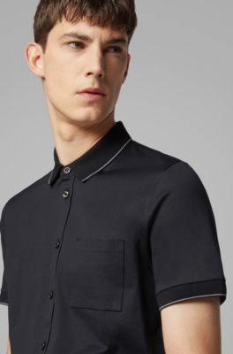dd9a3baf3e4b HUGO BOSS | Polo Shirts for Men | Classic & Sportive Designs