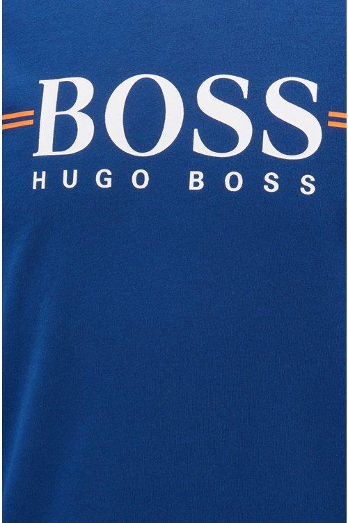 Hugo Boss - Loungewear-Sweatshirt aus Baumwolle mit Logo-Print - 2