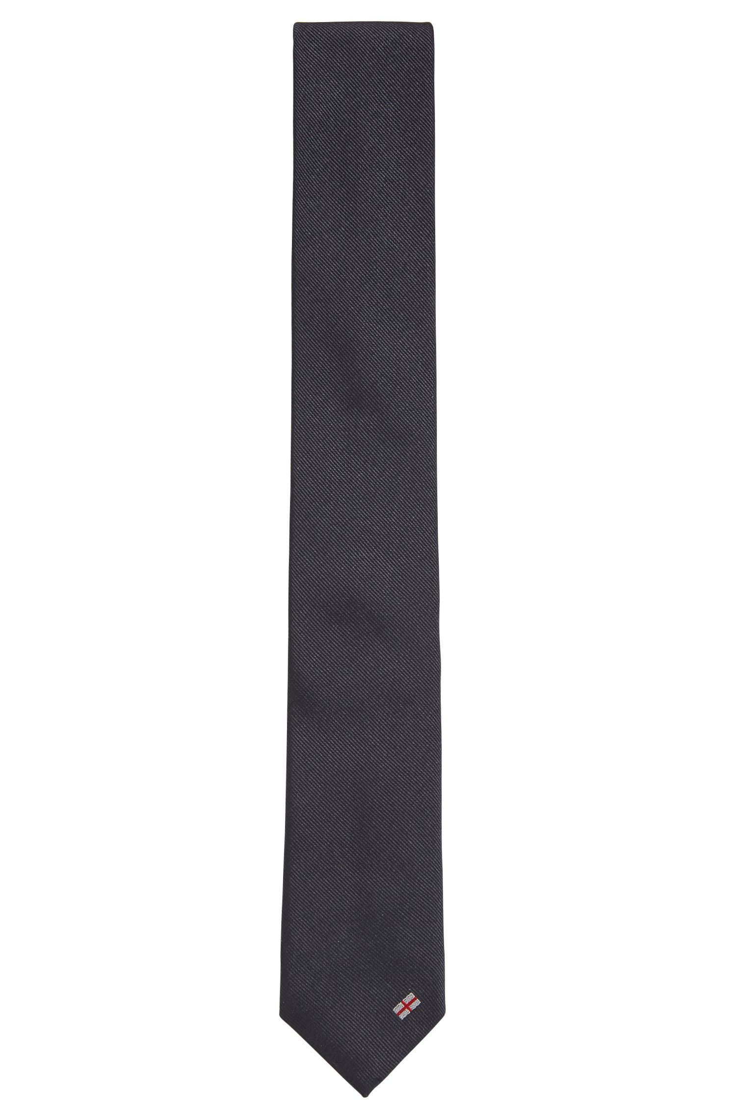Krawatte aus Seide mit Landesflagge