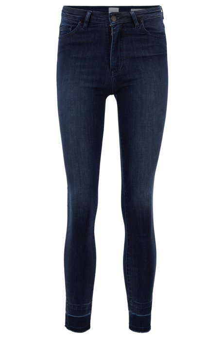 Skinny-fit jeans van red-cast super-stretchdenim, Donkerblauw