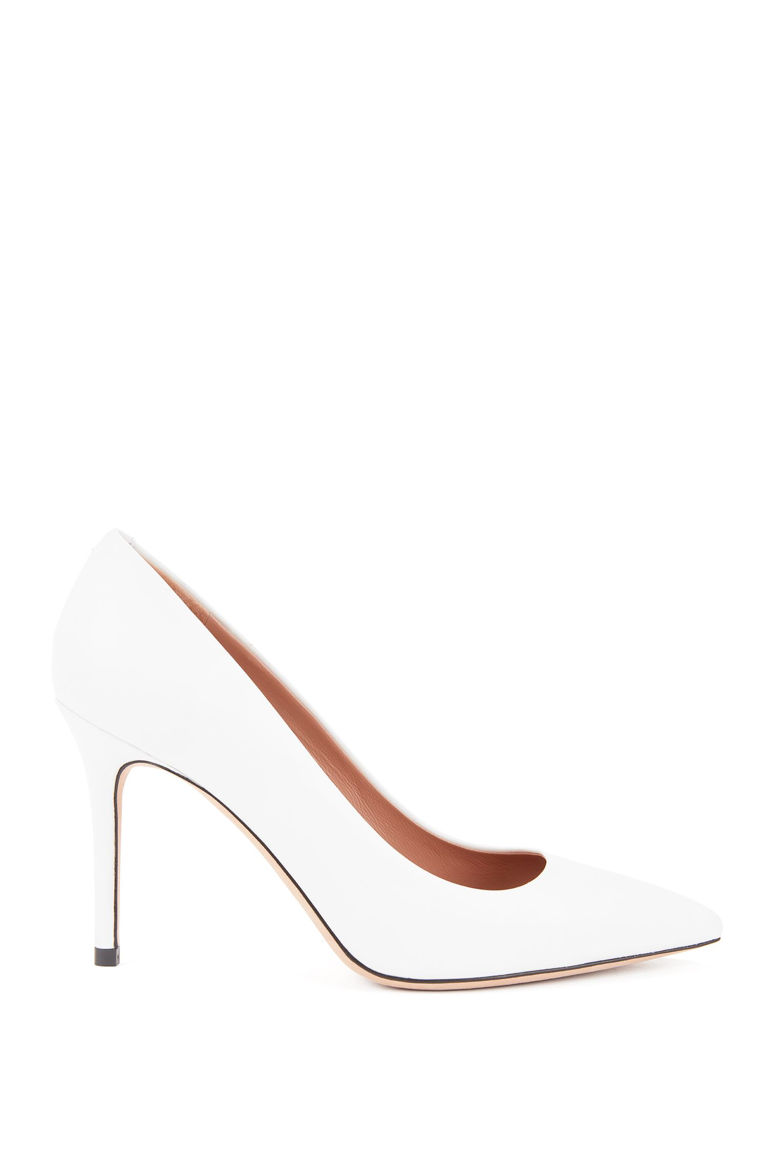 Gallery Collection court shoes in Italian calf leather