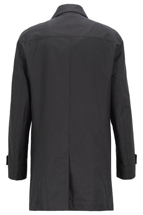 Hugo Boss - Mantel aus umweltfreundlichem Twill mit Knopfleiste - 4