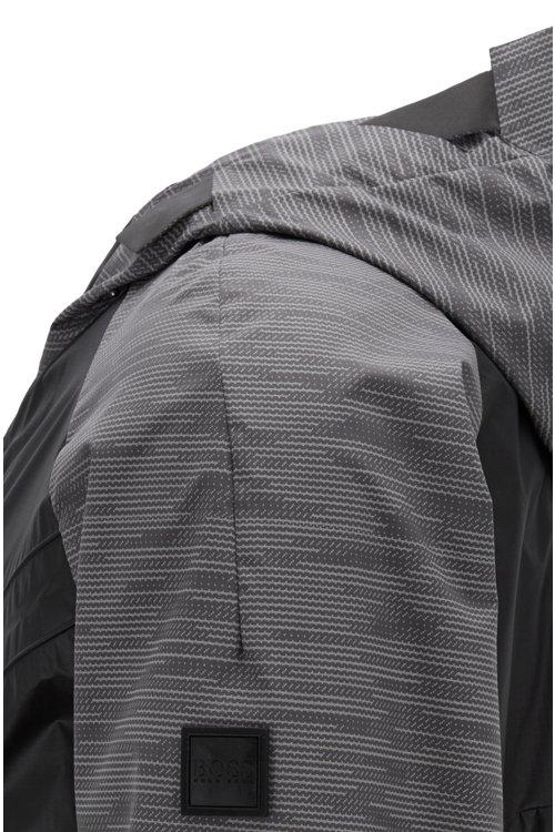 Hugo Boss - Parka ligera en tejido repelente al agua y antidesgarros - 5