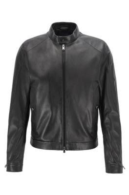 HUGO BOSS Leather Jackets for Men  d5d293135e8