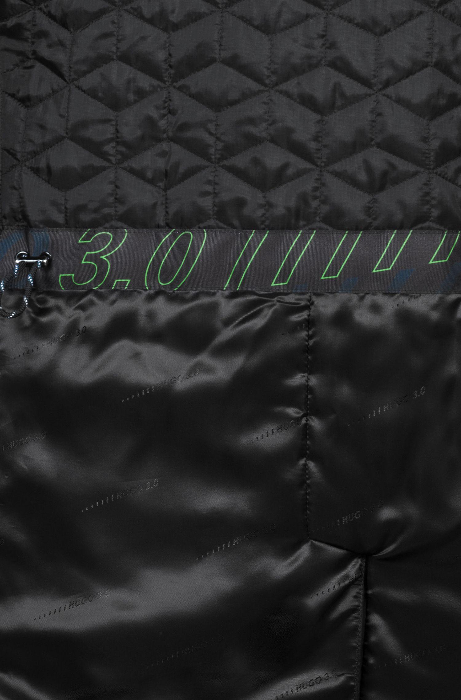 Mantel van waterafstotend materiaal uit de Bits & Bytes-capsule, Donkerblauw