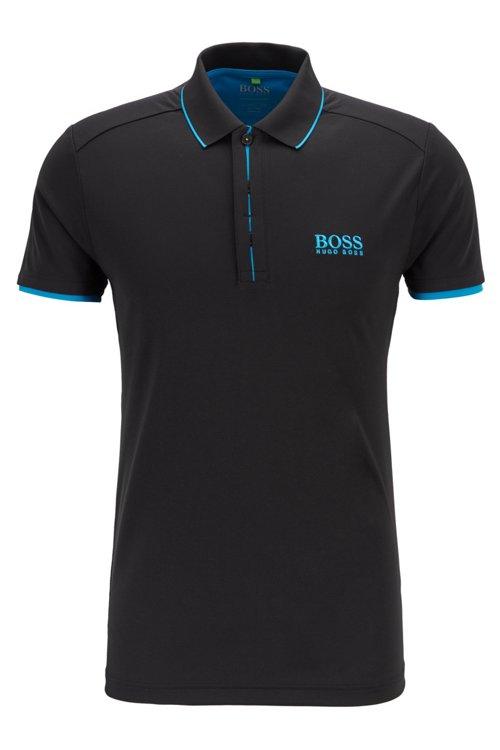 Hugo Boss - Poloshirt aus Waffel-Piqué mit S.Café® - 1