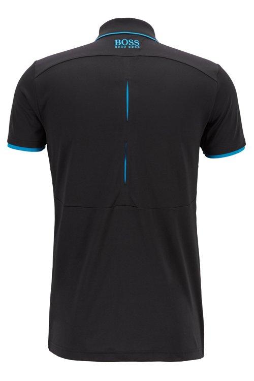 Hugo Boss - Poloshirt aus Waffel-Piqué mit S.Café® - 3