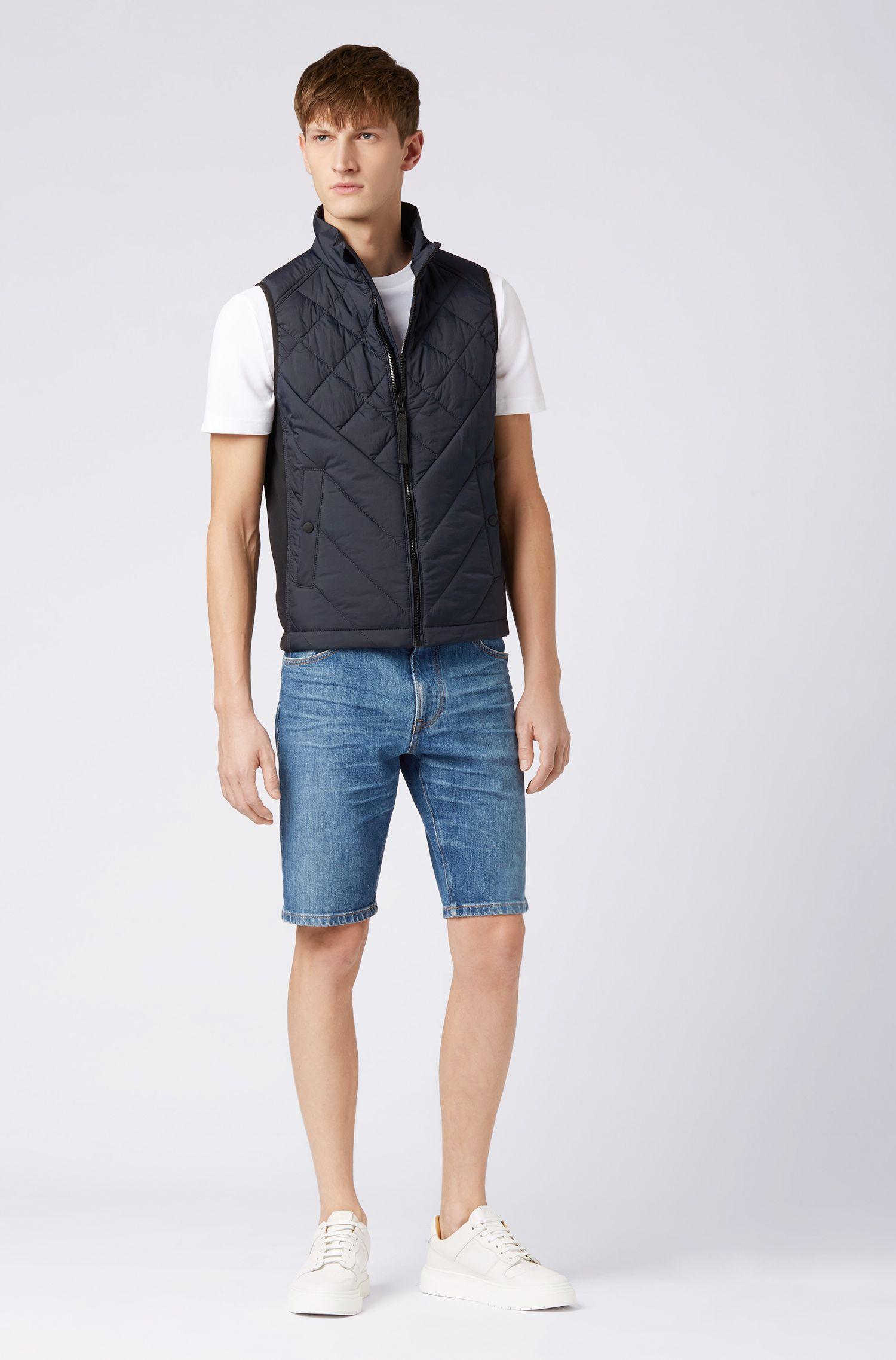 Veste sans manches légère et déperlante, avec garnissage PrimaLoft®, Bleu foncé