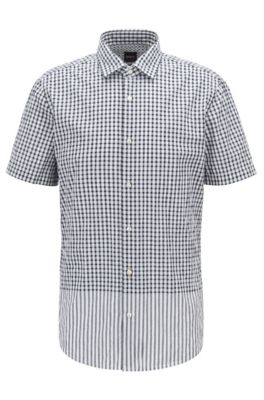 195b529d1 HUGO BOSS | Short-Sleeved Shirts for Men | Distinctive Designs
