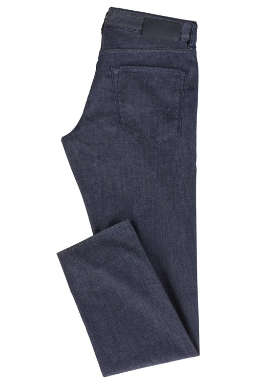 Hugo Boss - Regular-Fit Jeans aus leichtem Stretch-Denim - 4