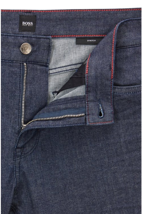 Hugo Boss - Regular-Fit Jeans aus leichtem Stretch-Denim - 6