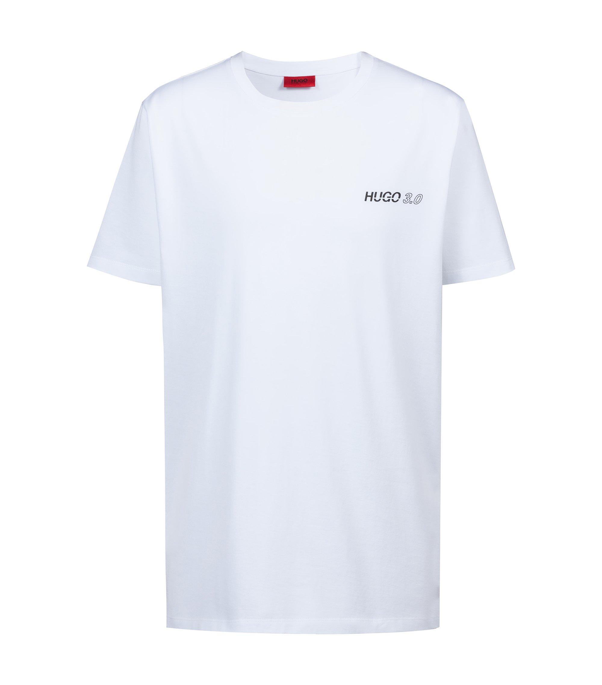T-shirt Relaxed Fit en coton issu de la collection capsule Bits & Bytes, Blanc