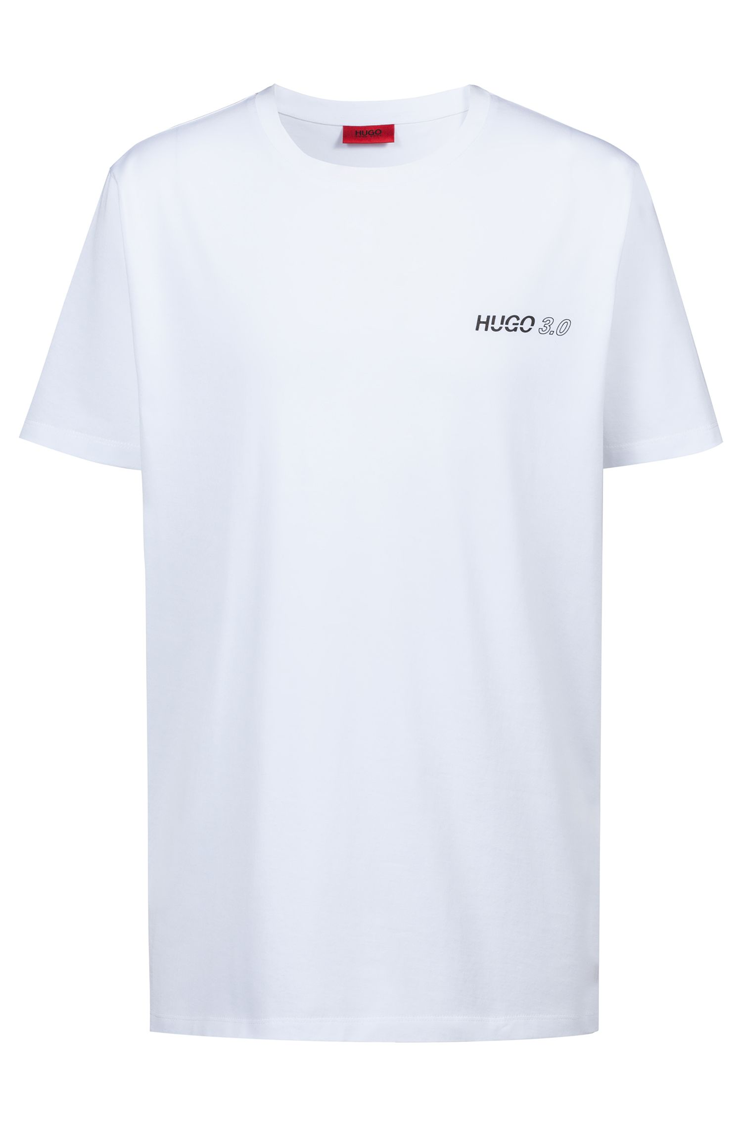 T-shirt Relaxed Fit en coton issu de la collection capsule Bits & Bytes, Blanc