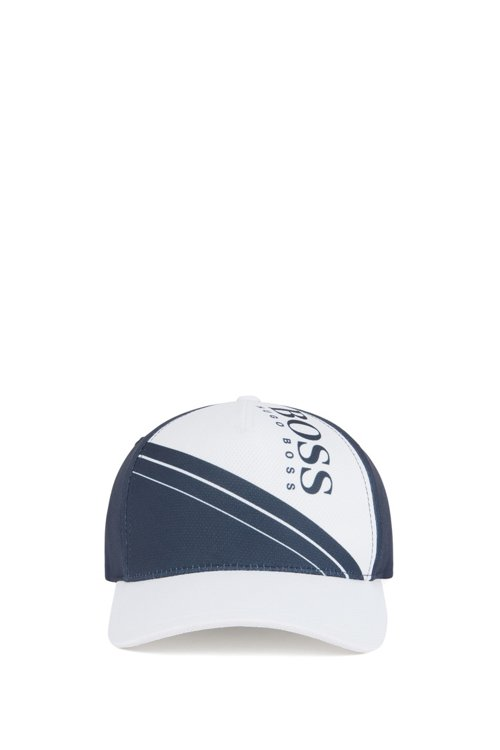 Hugo Boss - Leichte Cap mit Colour-Block-Logo und Waben-Struktur - 2