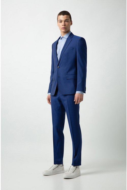 Hugo Boss - Camisa extra slim fit de algodón con logo estampado - 2