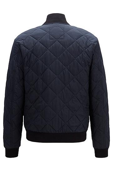 男士商务休闲夹克短外套,  404_暗蓝色