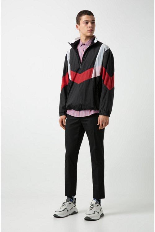 Hugo Boss - Camisa extra slim fit en algodón Oxford a rayas - 2