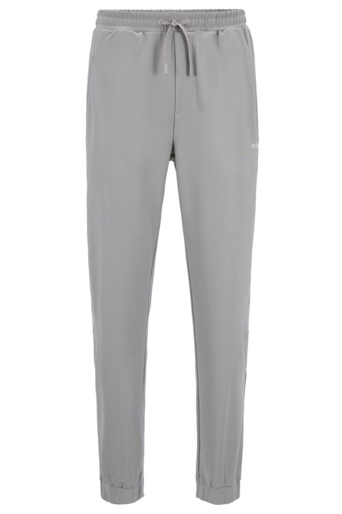 Hugo Boss - Slim-fit jersey trousers in stretch fabric with S.Café® - 1