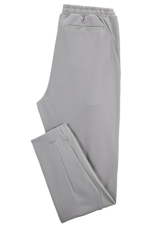 Hugo Boss - Slim-fit jersey trousers in stretch fabric with S.Café® - 3