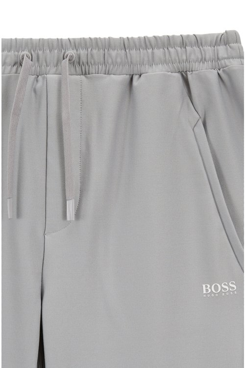 Hugo Boss - Slim-fit jersey trousers in stretch fabric with S.Café® - 4