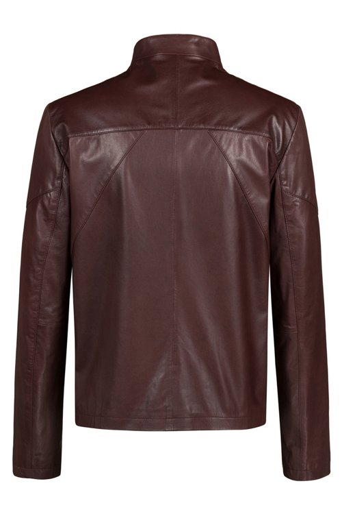Hugo Boss - Slim-fit biker jacket in nappa leather - 4