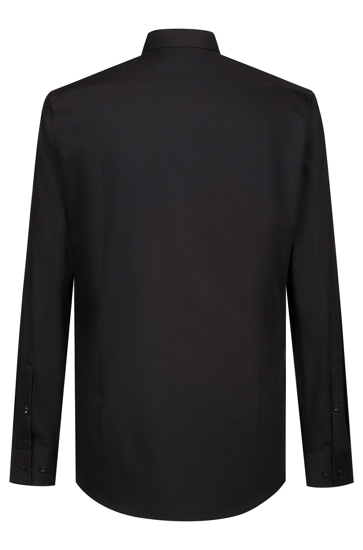 Hugo Boss - Camisa business slim fit en popelín de algodón - 4