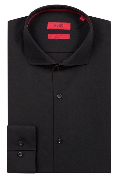 Hugo Boss - Slim-Fit Hemd aus Baumwoll-Popeline - 5