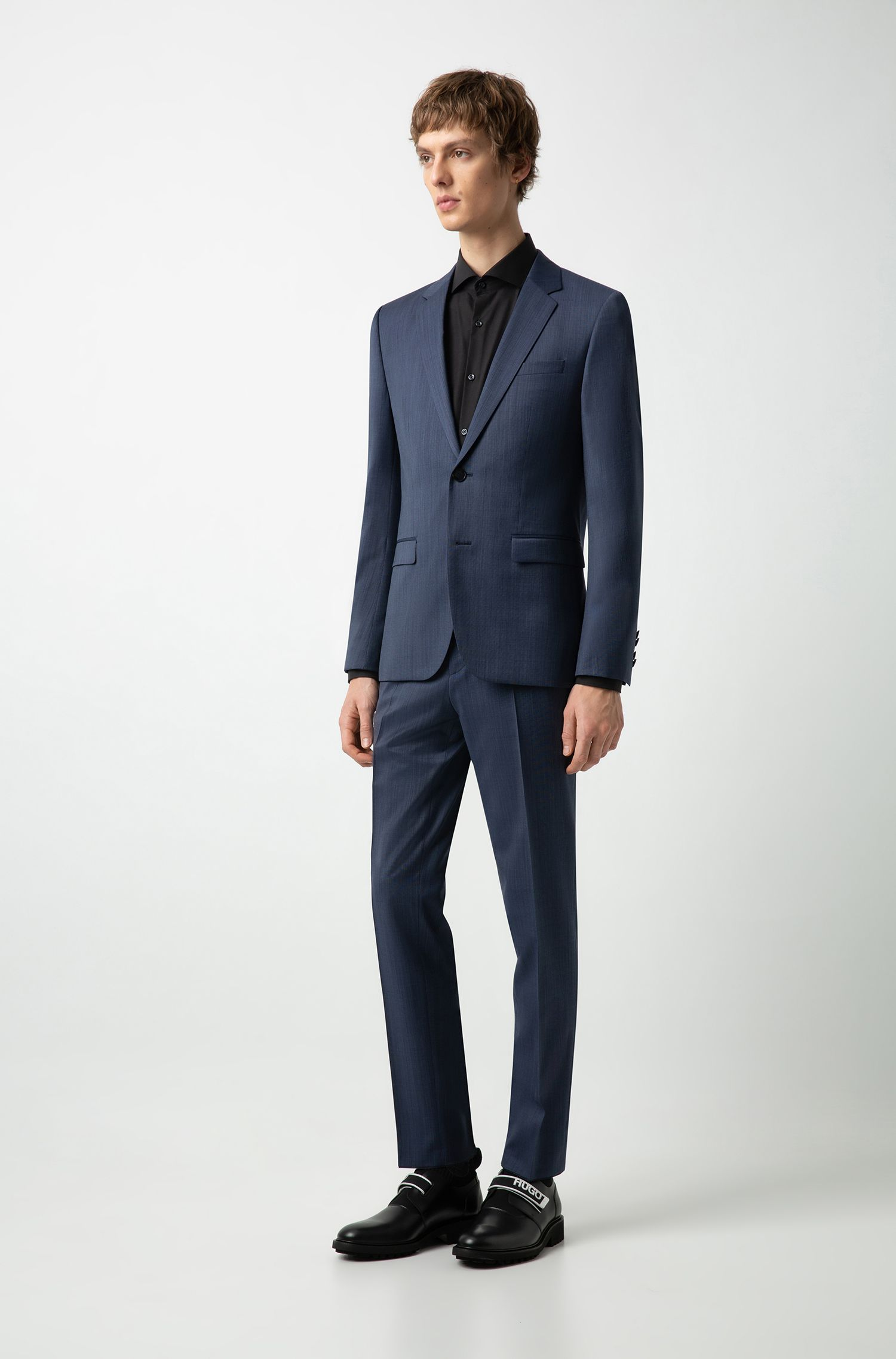 Hugo Boss - Camisa business slim fit en popelín de algodón - 2
