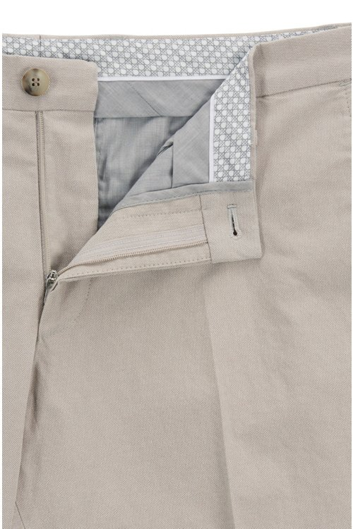 Hugo Boss - Extra Slim-Fit Hose aus melierter Stretch-Baumwolle - 5