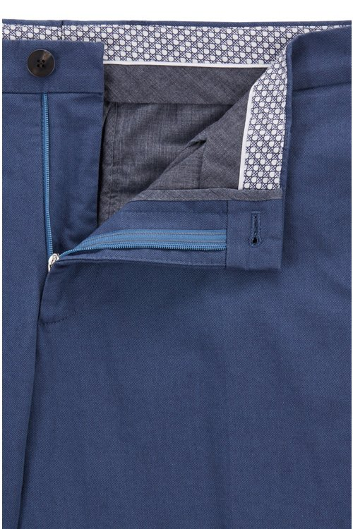 Hugo Boss - Extra-slim-fit trousers in melange stretch cotton - 5