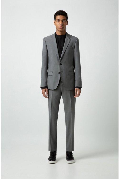Hugo Boss - Camisa extra slim fit en popelín de algodón elástico - 2