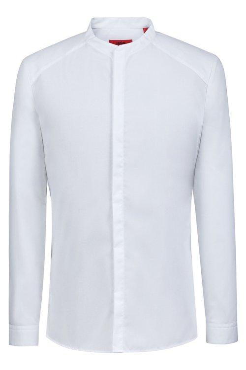 Hugo Boss - Extra Slim-Fit Hemd aus Baumwoll-Popeline - 1