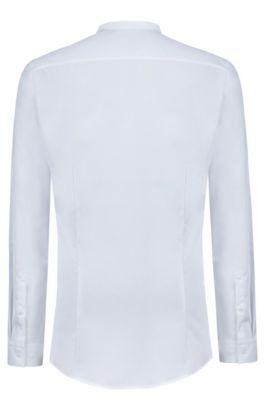 Heren Overhemd Hoge Boord.Overhemden Voor Heren Hugo Boss Strak Elegant