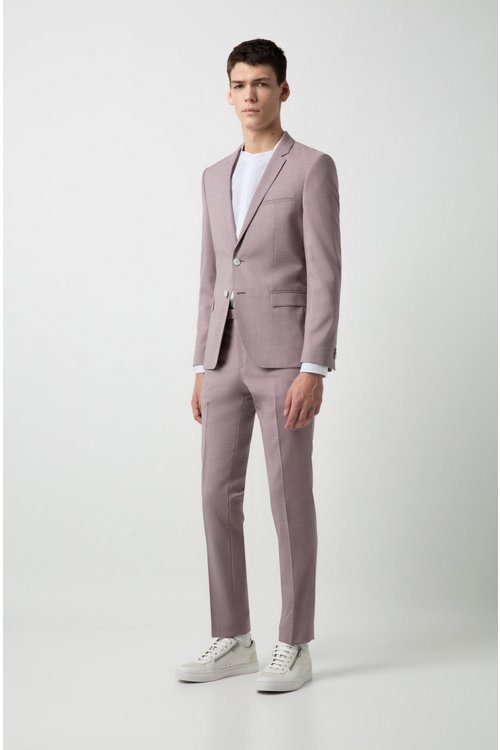 Hugo Boss - Extra Slim-Fit Hemd aus Baumwoll-Popeline - 2