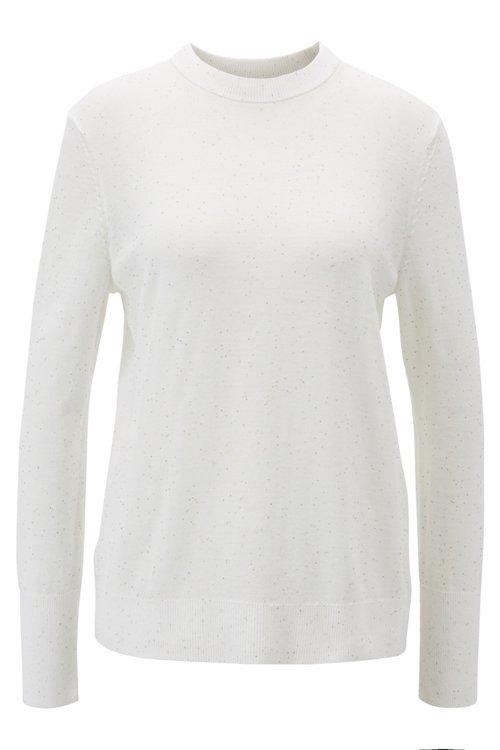Hugo Boss - Pullover aus Baumwolle mit kleinen Pailletten - 1