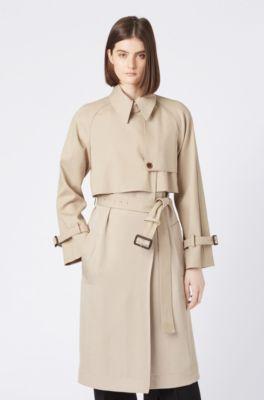 1e03a156928 SALE Women | Coats by HUGO BOSS – Elaborate designs