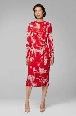 51f65132bfe6 HUGO BOSS | Women's Dresses | Evening & Casual Dresses for You