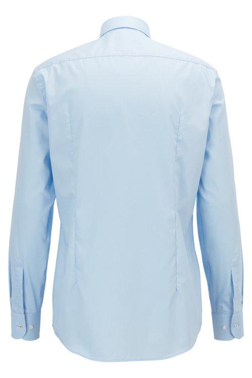 Hugo Boss - Slim-Fit Hemd aus bügelleichter Baumwolle mit Kontrast-Details innen - 4