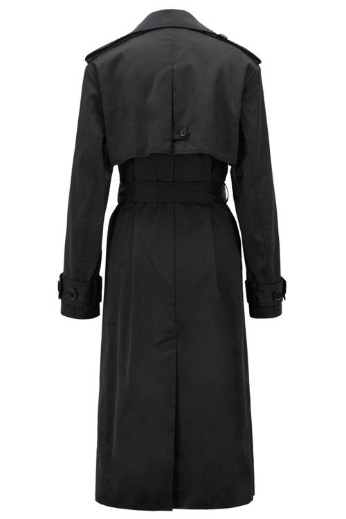 Hugo Boss - Double-breasted trench coat in water-repellent twill - 3